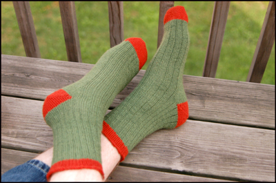 green_orange_socks