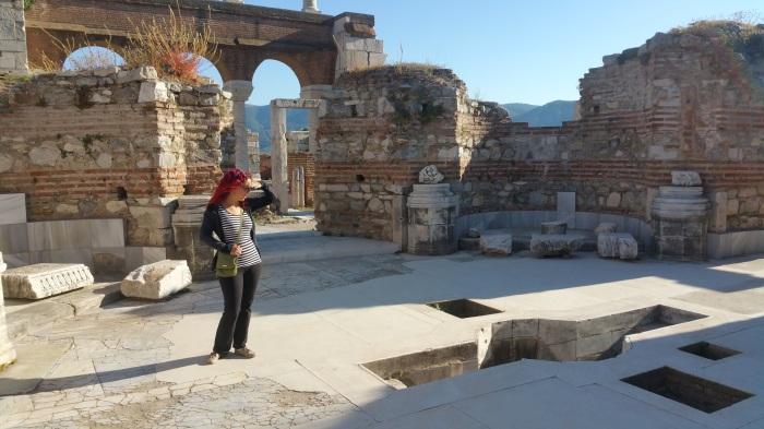 Ephesus St John Baptisery